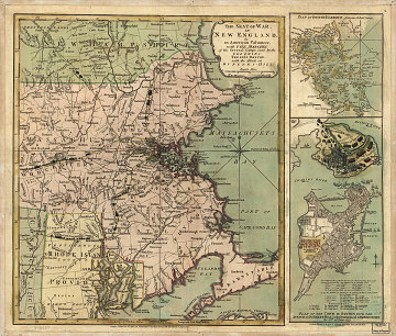 The Seat of War in New England, 1775