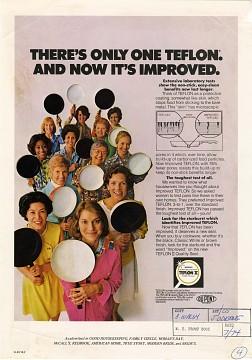 Teflon ad, around 1974