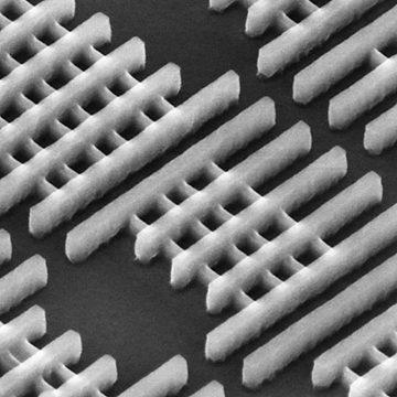 Transistor photomicrograph, 2011