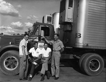 Truckers, about 1955