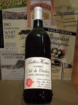 White Zinfandel, about 1975