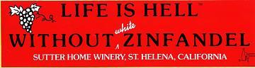 Bumper sticker, 2000