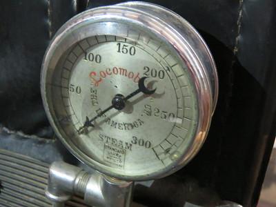 Locomobile Steam Gauge