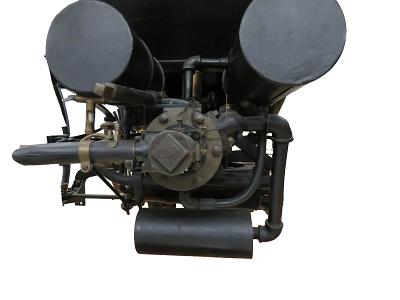 Gasoline Engine in the museum's Duryea Automobile.