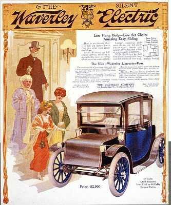 Waverley Electric Car ad