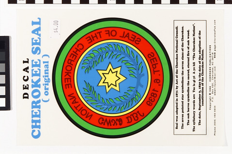 Image 1 for Cherokee Seal