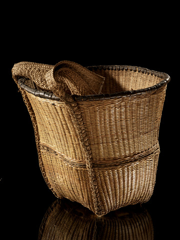 Image 1 for Burden basket with burden strap