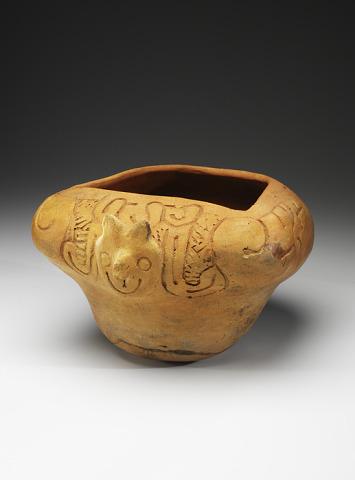 Image 1 for Owl effigy bowl