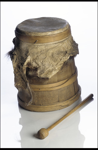 Image 1 for Water drum and drumstick