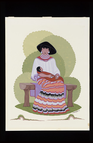 Image 1 for Seminole Mother and Baby