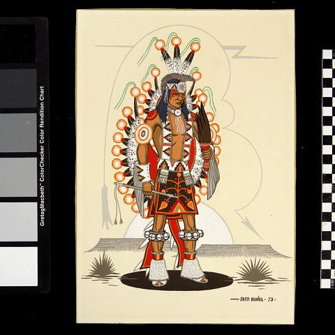 Image 1 for Plains Indian Contest Dancer