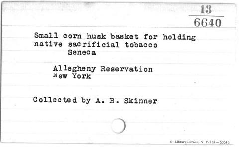 Image for Tobacco basket (Image withheld)