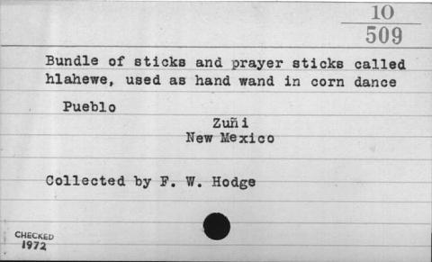 Image for Prayer stick/Prayer wand (Image withheld)