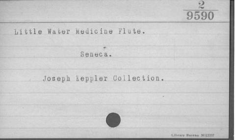 Image for Little Water Medicine Society flute (Image withheld)