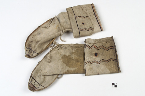 Image 1 for Woman's legging moccasins