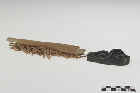 Image 1 for Pipe bowl and pipestem