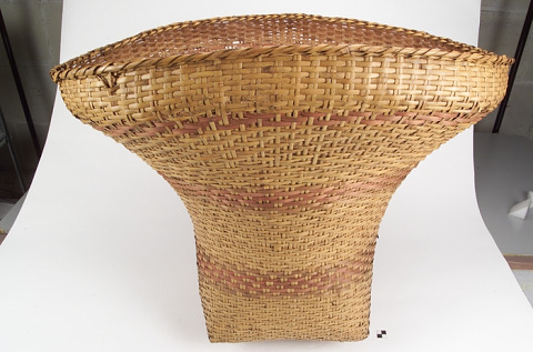 Image 1 for Burden basket with burden strap/tumpline