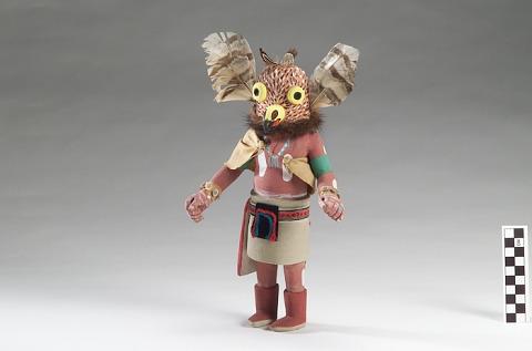 Image for Mongwa (Great Horned Owl) kachina
