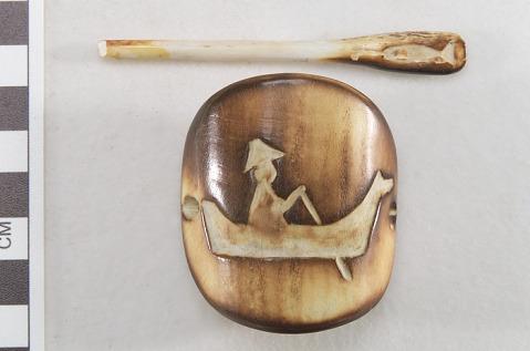 Image for Stick barrette/bun holder