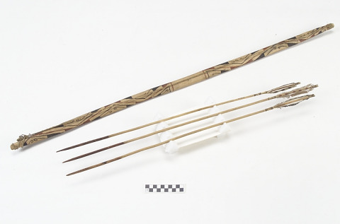 Image 1 for Bow and arrow model/miniature