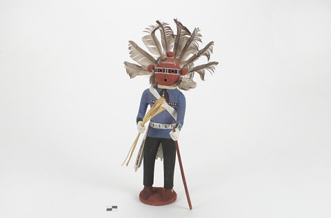Image 1 for Kipok Koyemsi (Warrior Clown) kachina