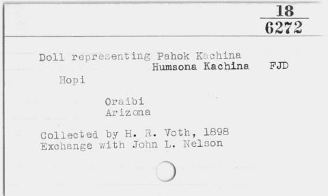 Image for Kachina/Katsina (Image withheld)