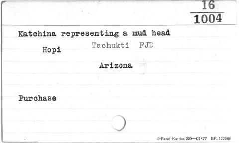Image for Mud Head kachina