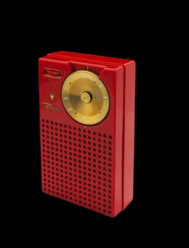 Regency transistor radio, 1954