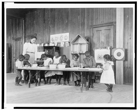 Whittier Primary School, Hampton, Virginia, around 1900