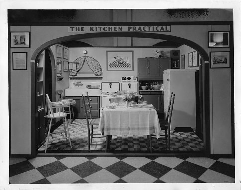 Gilbreth's model kitchen, 1929