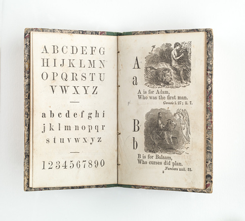 Children's Letter Book, around 1840