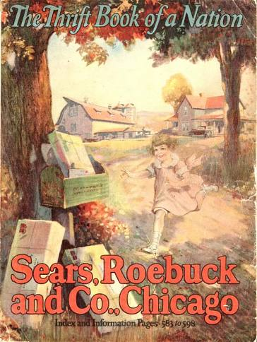 Sears, Roebuck catalog, 1922