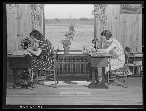 Sewing Class, South Carolina, 1939