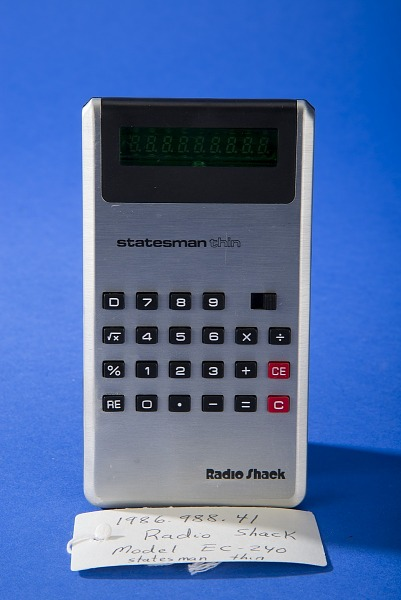 Electronic Calculators—Handheld | Smithsonian Music