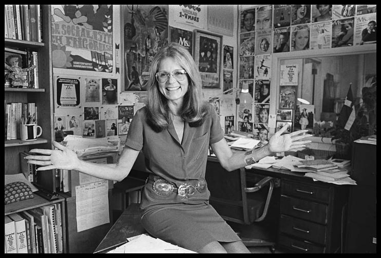 Gloria Steinem, 1934–