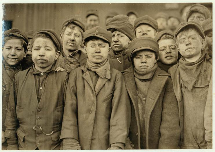 Breaker boys, 1911