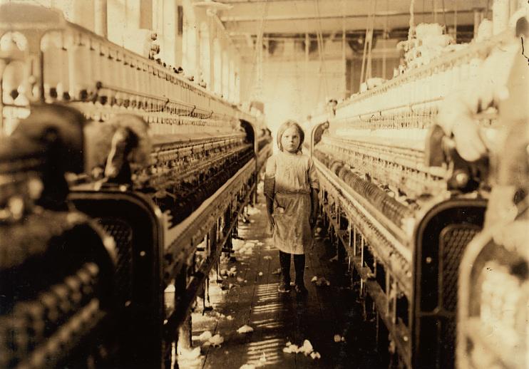 Lewis Hine Photos of Child Labor, 1900-1910s