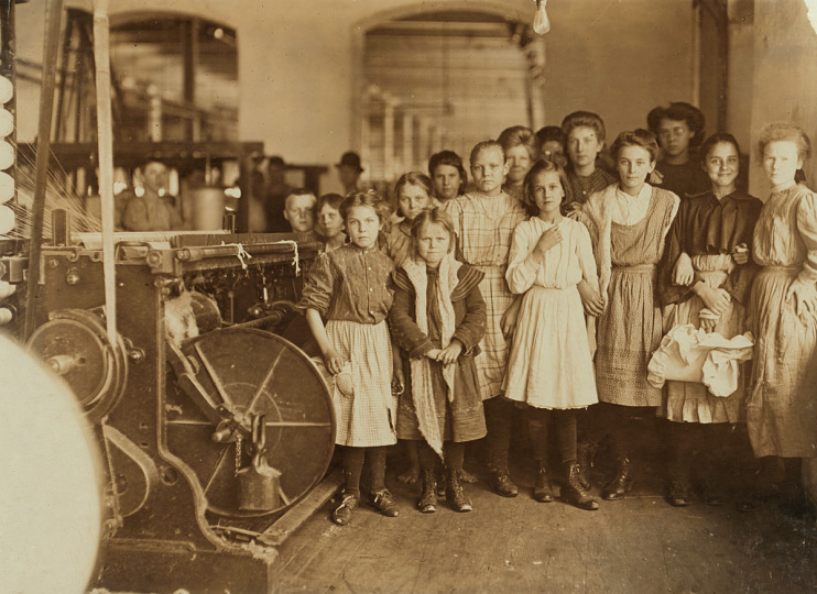 Lewis Hine Photoof Child Labor, 1900–1910s