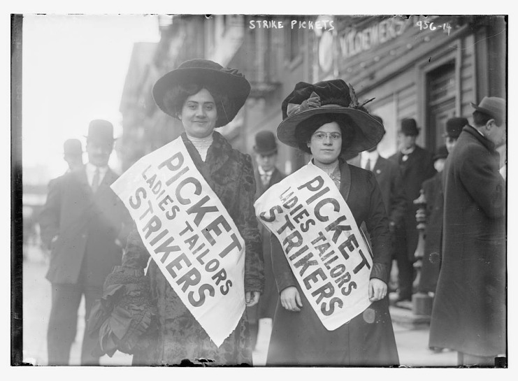 The New York Uprising of 20,000, 1909