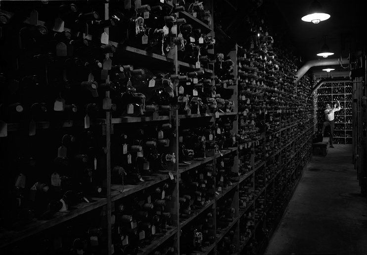Wine cellar, 1966