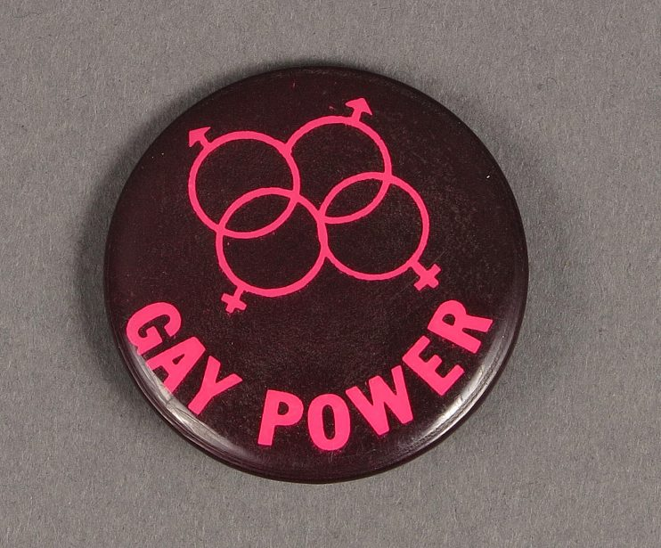 """""""Gay Power"""" with double male double female symbols"""