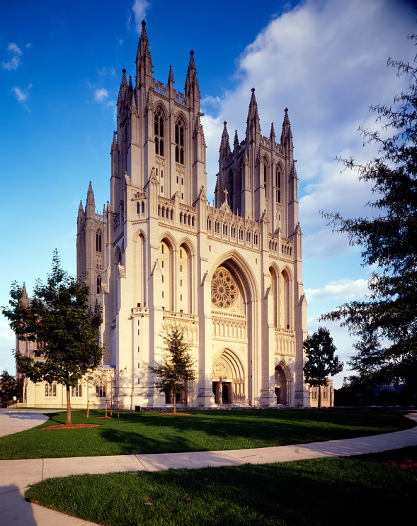 Washington National Cathedral, Washington, D.C., completed and consecrated in 1990