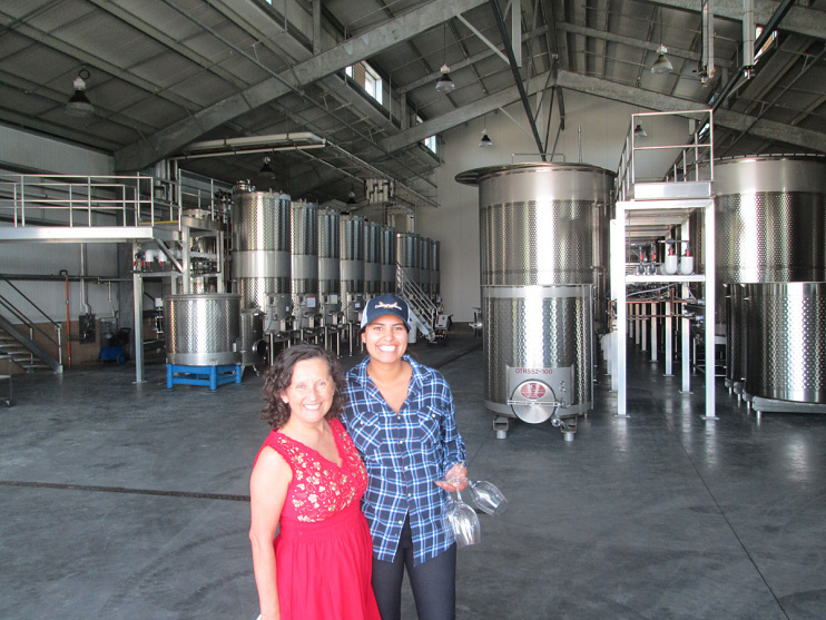 Amelia and Belen Ceja at Heirs of My Dream Winery, 2017