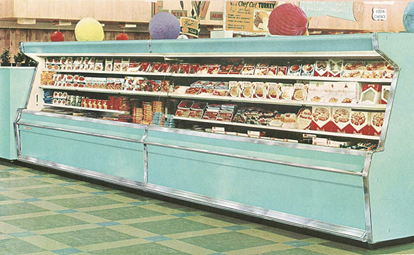 Jewel-Osco supermarket in Chicago, 1960s