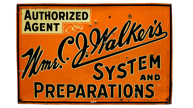 Sign, 1920s–1960s