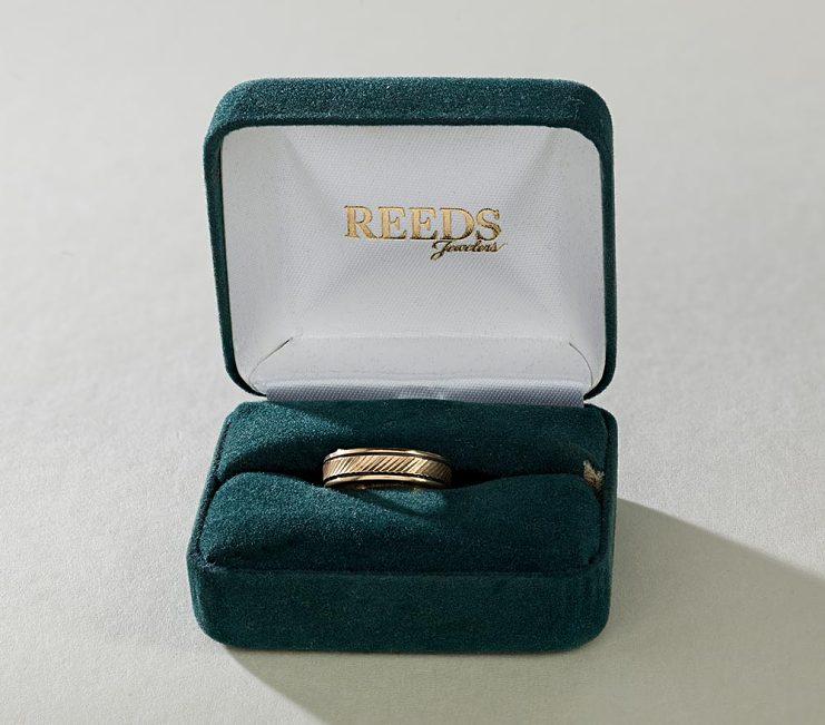 Wedding ring, around 1996