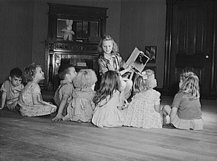 Learning to Mother, Laboratory Nursing School, Orange, Texas, 1943