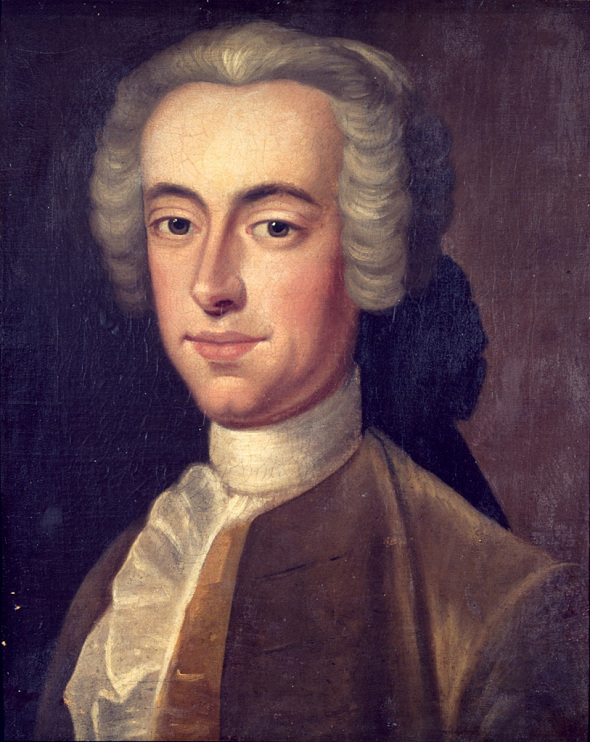 Portrait of Thomas Hutchinson by an unknown artist, after Edward Truman portrait, 1741