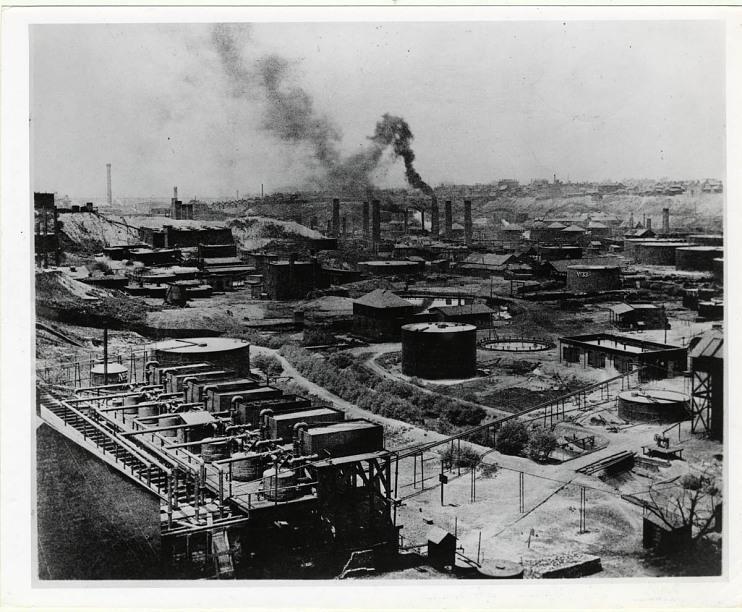 Standard Oil refinery, Cleveland, Ohio, 1890