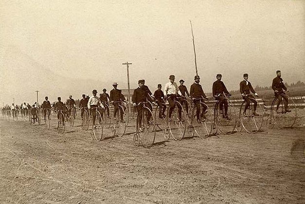San Francisco Bicycle Club; H.A. Green, Captain, undated